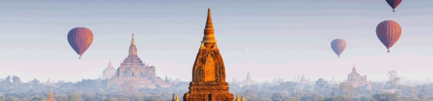 Start Your Southeast Asian Adventure in Myanmar